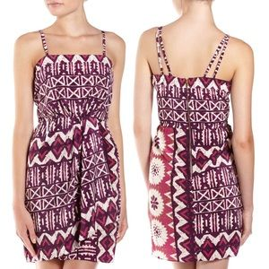 🧨 Yoana Baraschi ✧ Tribal Print Faux Wrap Dress ✧